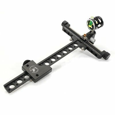 Micro Adjustable Sight 1 Pin 0.059'' Hunting Target Archery Compound Bow