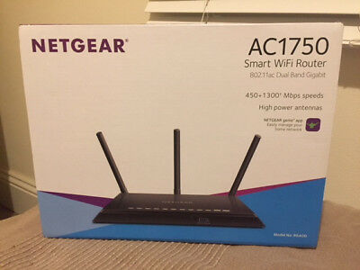 NETGEAR AC1750 Smart Wifi Router - AS GOOD AS NEW (purchased June 2018)