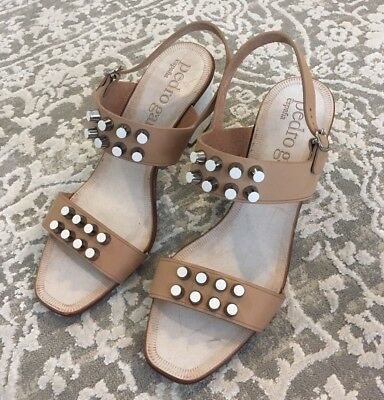 New Pedro Garcia Spain 39 9 Xanet Slingback Stud Heels Anthropologie