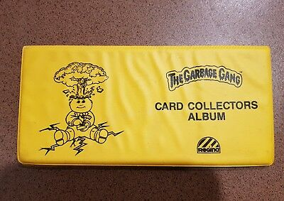 Garbage Gang official card collectors album/folder *Regina *GPK Extremely Rare!