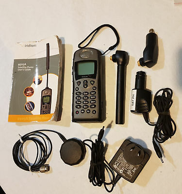 Motoralla Iridium 9505A Satellite Phone - best coverage in AU world wide network