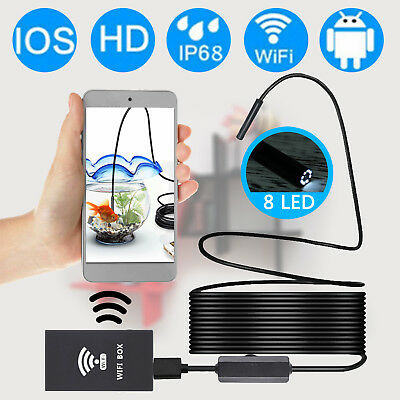 Endoskop Wasserdicht USB Endoscope Inspektion Kamera für iPhone Android PC