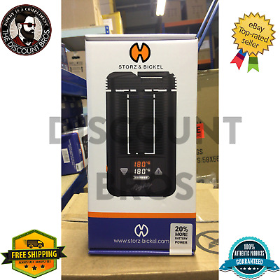 Storz & Bickel Volcano Mighty 2018 Model 20% More Battery Life | Authentic