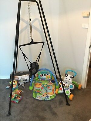 baby bundle Bulk, Activity Gym, Jumping Joey, Sensory, Musical
