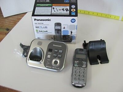 Panasonic KX-TG7731 Expandable Phone System Answering Machine DECT6.0 KX-TGA470
