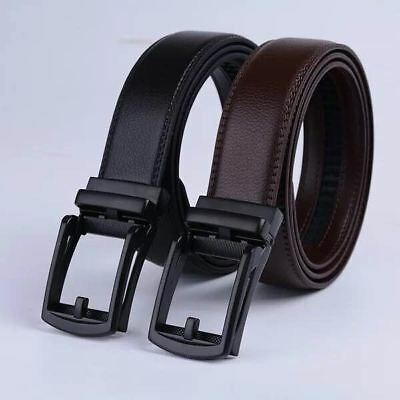 Adjustable Click Buckle Belt for Man - LEATHER, Comfort, Stylish and Fashion