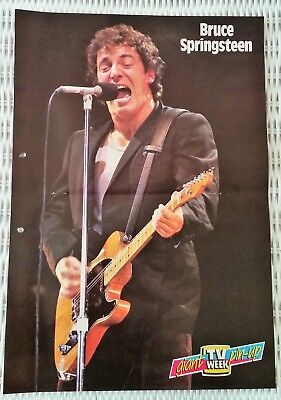 Bruce Springsteen - Tv Week Giant Pin-Up