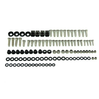 Complete Fairing Bolts Kit Screws Nuts for Yamaha FZR600 89-99 FZR400R 1988-1989