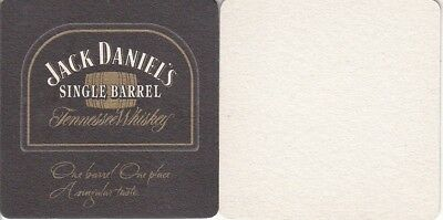 Jack Daniels Single Barrel Australian Square Beer Coaster - Beer Mat