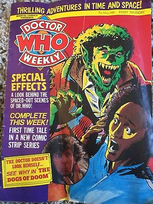 Doctor Who Weekly Magazine 7th May 1980 No 30