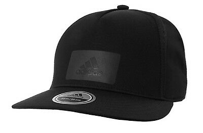 3c04c14fa55ff Adidas ZNE LOGO Caps Running Hat Golf Adjustable Black OSFW OSFM Hats Cap  CY6049