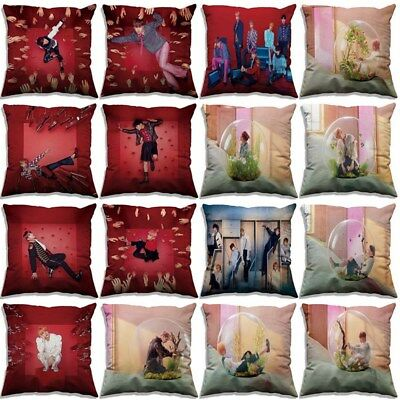 KPOP BTS Pillow Case LOVE YOURSELF 結 ANSWER Sofa Car Cushion Cover Home Decor