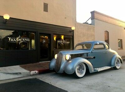 1937 Plymouth chopped, hot rod, kustom  1937 plymouth coupe