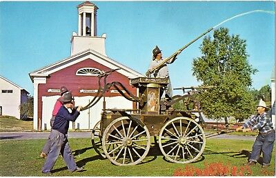 1840 Washington Hand Pumper (Old Museum Village,Smiths Cove,NY-United States)