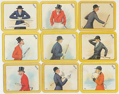 CARRERAS - 1926 : Greyhound Racing Game Part Set (41/52) Large Cigarette Cards