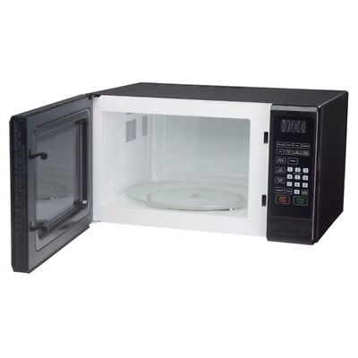 Countertop Microwave Oven Kitchen Timer Display Glass Dish Child Safe Dorm Room