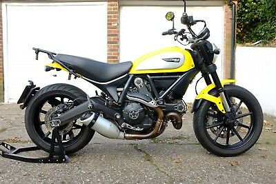 2015 Ducati Scrambler Icon Lovely Engine