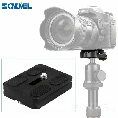 1x PU-50 Universal Quick Release Plate for Benro Arca Swiss Tripod Ball Head New