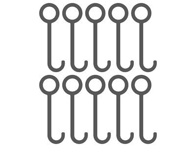AR500 Conduit & Pipe Gong Hanger (10 Pack)