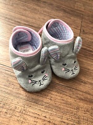 Baby Joules Girls Slippers 12-18m (new)