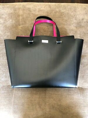 6b39bd23302e Kate Spade Arbour Hill Black Pink Sweetheart Pink Purse New With Tags