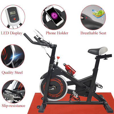 Spinning Exercise Bike Cardio Cycling Health Fitness Bicycle Stationary Indoor