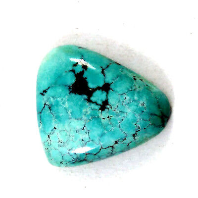 Fine Quality  TURQUOISE Fancy Shape Cabochon 23x26 MM 22.6ct Loose Gemstone