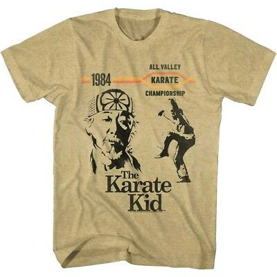 ea6cc9c832b9f6 Karate Kid Cobra Kai Championship Fight 1984 Men s T Shirt Daniel Miyagi  Battle