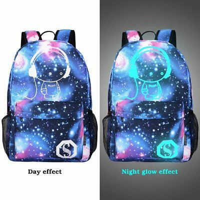 Galaxy School Bag Backpack Collection Canvas For Teen Girls Kids Christmas Gift