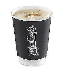 MCDONALDS COFFEE / HOT DRINKS LOYALTY STICKERS 450 PACK 75 Cups