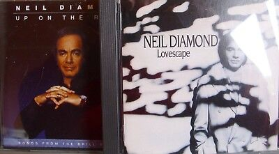 Neil Diamond- Lovescape/ Up on the Roof- 2 CDs- Made in Austria 1991/93 WIE NEU