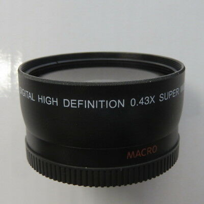 Digital High Definition 0.43x Super Wide Angle Lens with Macro