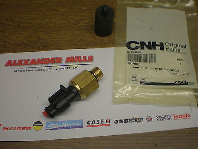 Ford New Holland Tractor GENUINE Temperature Sensor Transmission TM TS 87564694