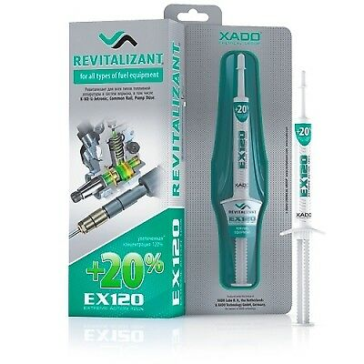 XADO REVITALIZANT EX120 for all types of fuel equipment and fuel injection syst