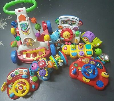 Unwanted Euc 10 Toys Baby Toddler Fisher Price Wiggles Lamaze School Play Group