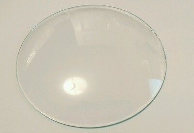 Round Convex Clock Glass Diameter 4 1/16'''