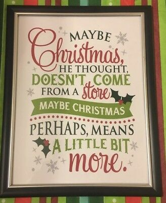 Grinch Christmas Wall Art