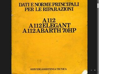 manuale officina a 112 abarth in file pdf via email