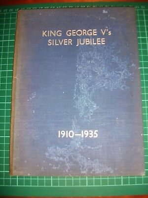 Collectible Souvenir Book Royal Family King George V's Silver Jubilee 1910-1935