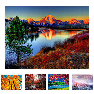 Fashion Scenery Oil Painting By Number DIY Handpaint Paint Home Decor Reliable