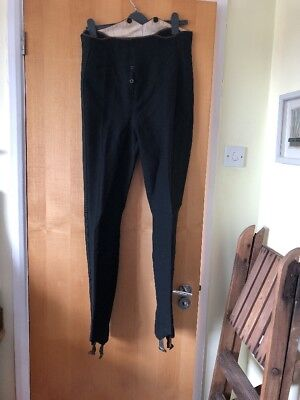 Mens Vintage Dress Trousers Stirrups Early 1900s