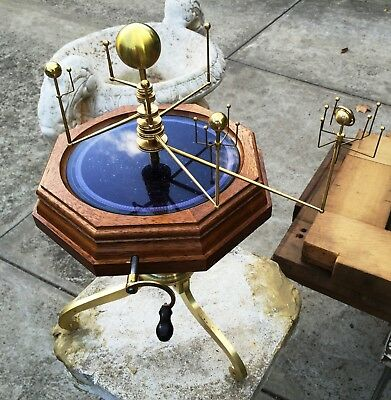 Hand Crafted  -  Brass  -  Mechanical Solar System Orrery