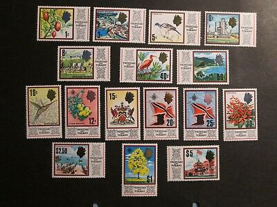 Trinidad and Tobago 1969 definitive set complete Mounted Mint