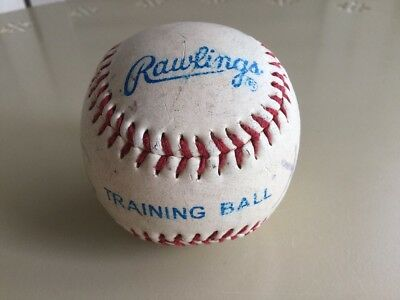 RAWLINGS baseball training ball Vinyl cover sponge center 158