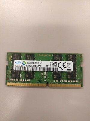Samsung 8 GB 2rx8 pc4- 2133P - SE1- 11 laptop memory ( M471A1G43EB1)