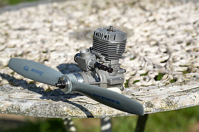 SC 46 Model Engine. Appears Never To Have Been Run. Inc. 11x7/280x178mm Prop