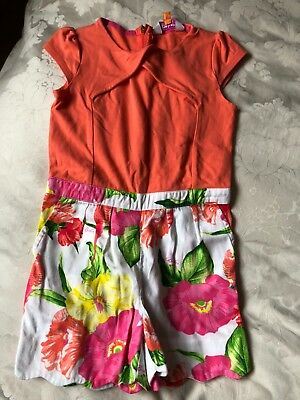 Ted Baker Girls playsuit aged 4-5 years