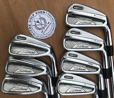 Titleist AP2 FORGED Irons 4 - PW - NS PRO 950GH SHAFTS - 1/2 INCH LONGER 2 UP