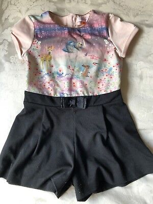 Ted Baker Girls playsuit aged 6-7 years