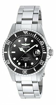 Invicta 8932 Quartz Black Dial Watch Men's Pro Diver